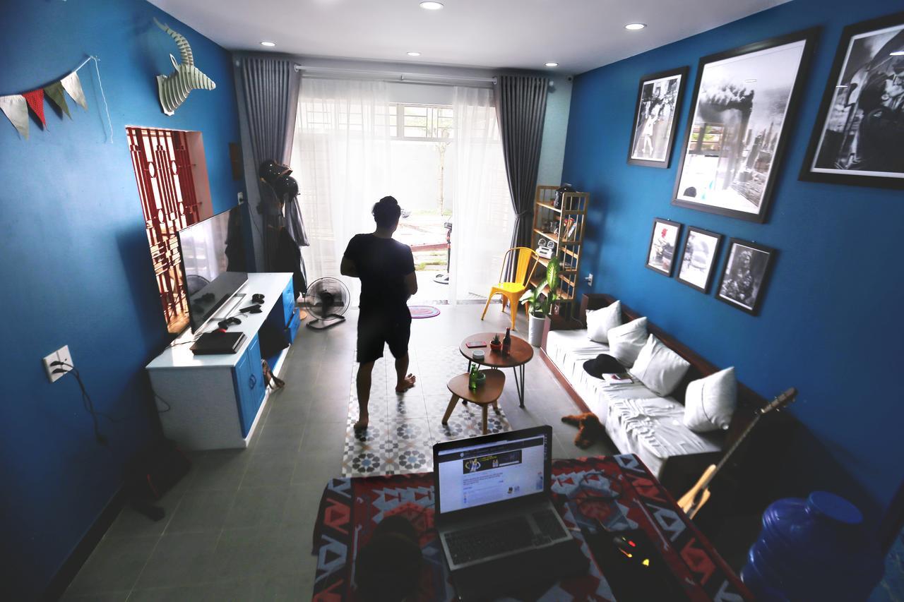 Không gian sinh hoạt D Green Homestay Đà Nẵng