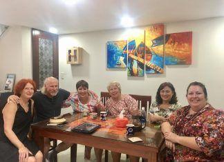 Những vị khách nước ngoài lưu trú tại Mai home