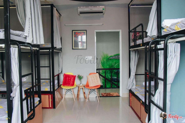 Phòng dorm rộng rãi ít home nào sánh được