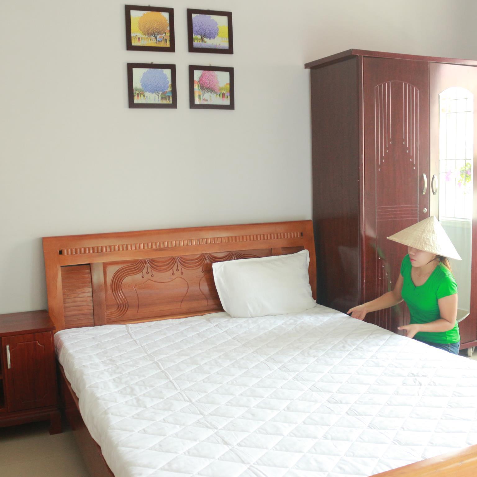 Các phòng của Mint đều có cửa sổ và ban công thoáng mát