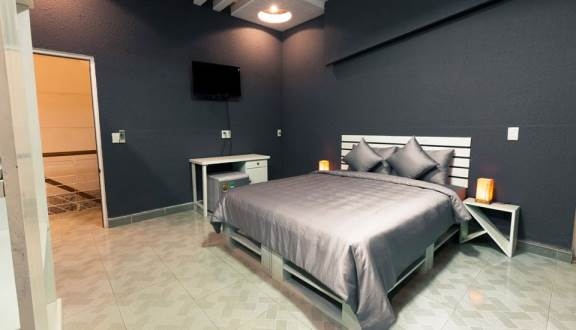 phòng ngủ sang chảnh tại jk homestay