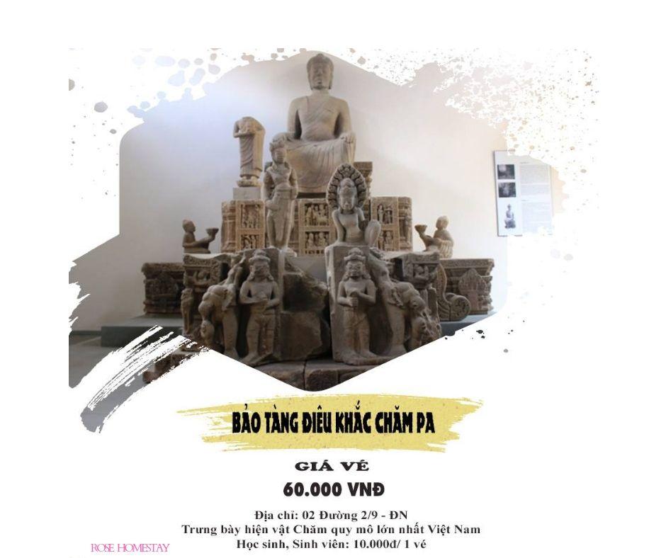 Bảo tàng điêu khắc Chăm pa - nơi thăm quan, tìm hiểu lịch sử của thời Chăm