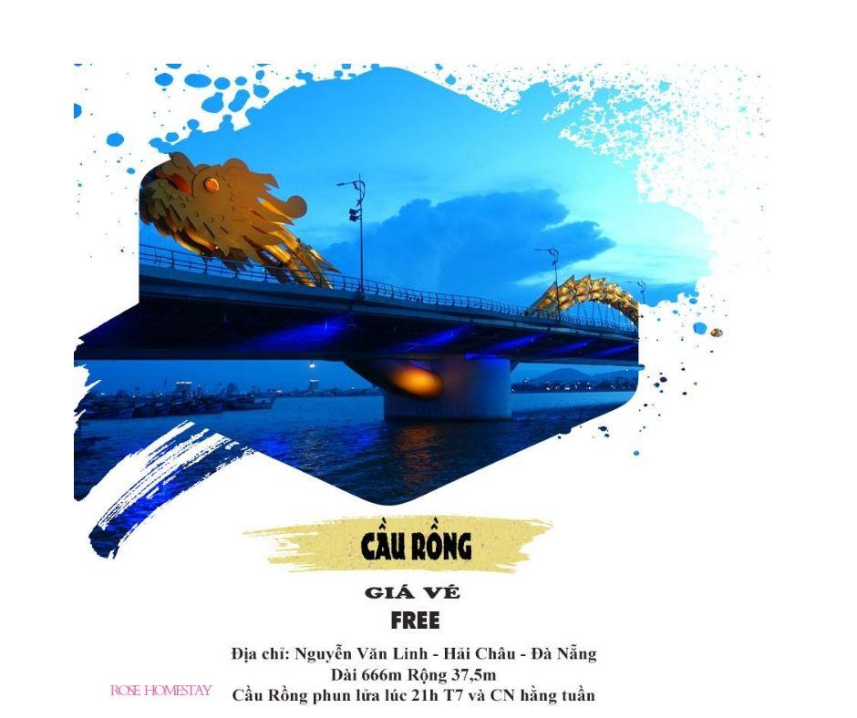 Cầu Rồng - Cây cầu biểu tượng của Thành phố biển Đà Nẵng
