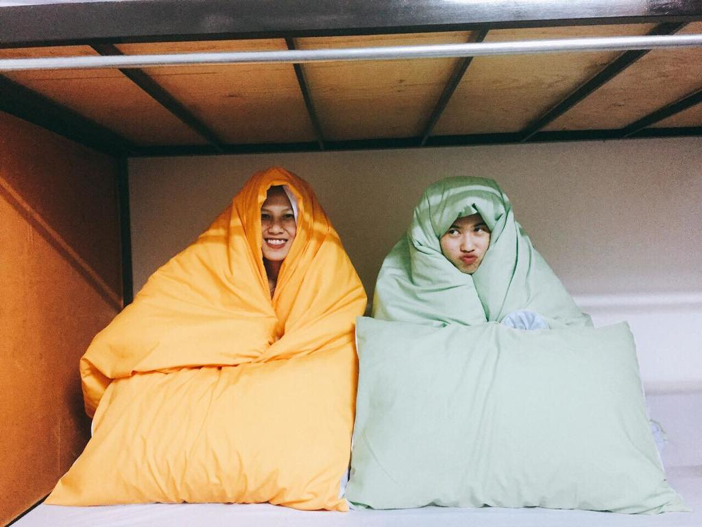 Phòng dorm cho các bạn nữ với đủ màu sắc dễ thương