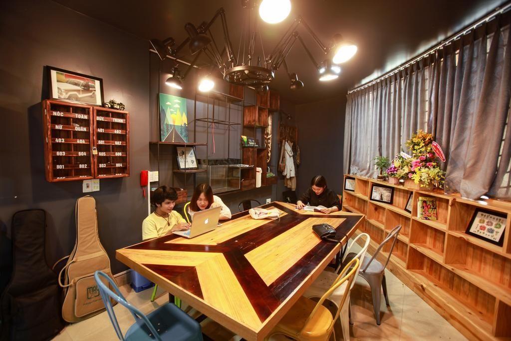 phòng sinh hoạt chung siêu chât tại 5d homestay đà nẵng