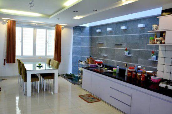 Gian bếp hiện đại sang chảnh tại Kitty homestay đà nẵng
