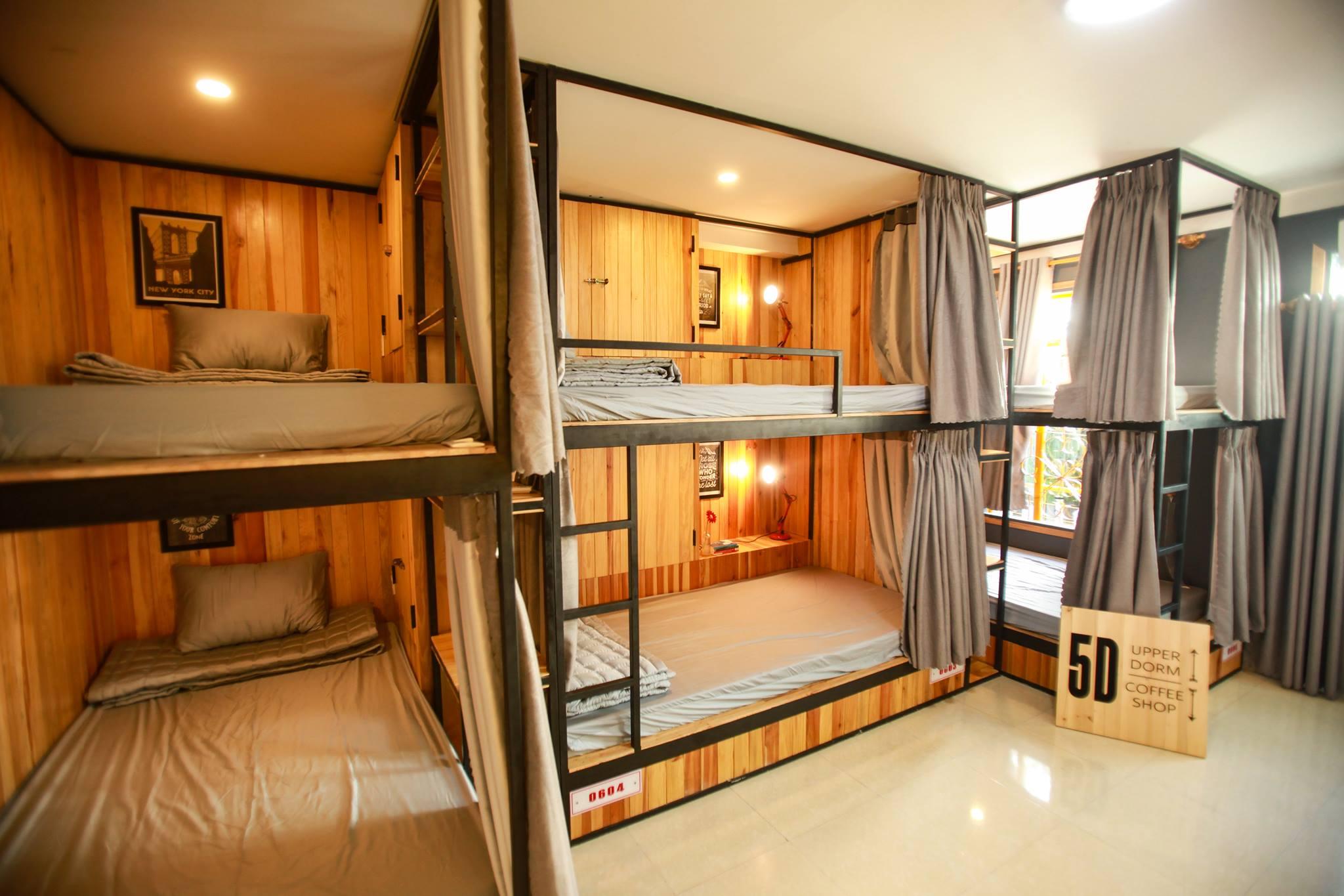 5d hostel đà nẵng - phòng giường tầng dorm