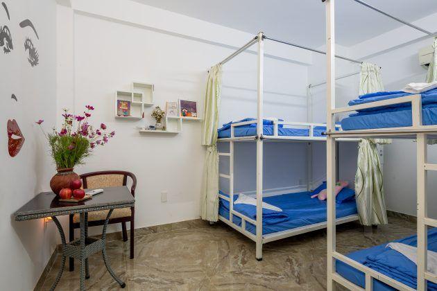 Phòng dorm tại rose garden homestay giúp bạn tiết kiệm tối đa chi phí